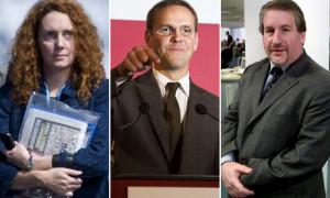 James Murdoch, Rebekah Brooks, Simon Kelner – but not Paul Dacre
