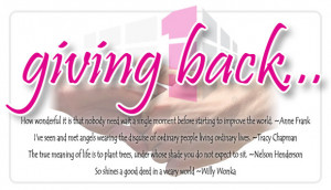 Giving Back Quotes Giving-back