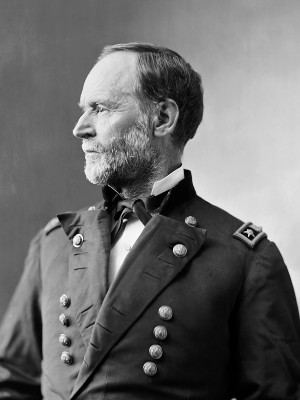 Up | Photograph of General Sherman | Portrait of General William T ...
