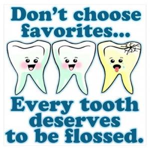 Funny Dentist Humor Poster