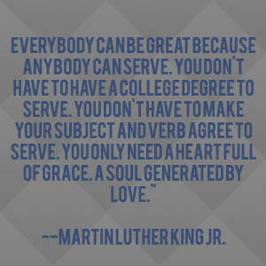 Martin Luther King JR. #serve #leadership #lead #quote