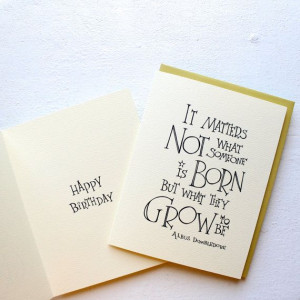 ... ://www.etsy.com/listing/183669224/harry-potter-quote-birthday-card