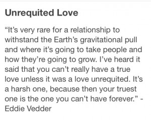 Eddie Vedder - quote