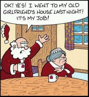 Santa funny cartoon13 Funny Christmas Cartoon LMAO!