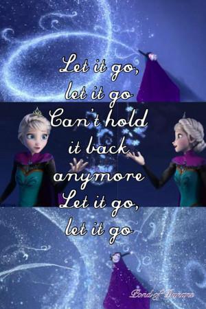 Let It Go-Frozen