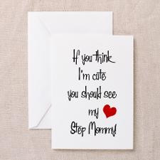 Step Mom Greeting Cards
