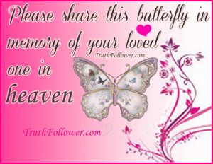 In memory of loved one in Heaven, Quotes Prayers