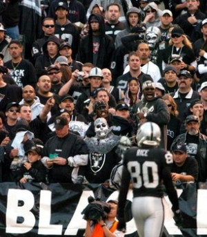 NFL Oakland Raiders Black Hole Raider Nation