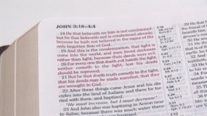 highlighter to mark Bible verses in the KJV Bible. First the bad ...
