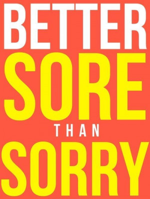 Better Sore Than Sorry! Come to Body Morph Gym in Ferndale, MI for all ...