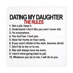Dating My Daughter – The Rules