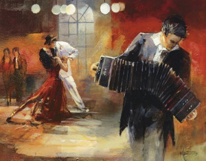 ... tango are internal ... A dancer arrives at the roots of tango when he