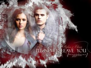 The Vampire Diaries Stefan & Elena