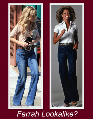 Farrah Fawcett Inspired 70s Fashion Trends