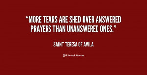 Answered Prayers Quotes