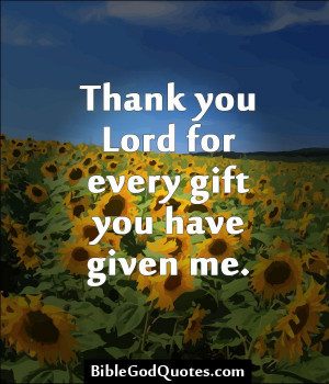 Thank You Lord Quotes Jesus