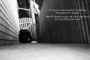 girl, losing, love, quote, quotes - inspiring picture on Favim.com