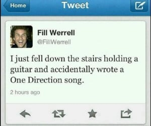 funny twitter quotes, one direction song