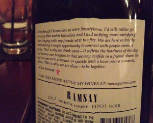 Great wine quote