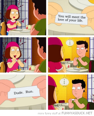 meg family guy tv scene fortune cookie love life funny pics pictures ...