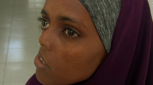 ... woman Ayan Mohamed waits 23 years for surgery to fix shattered face