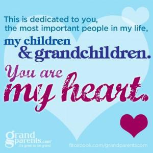 ... Grandchildren Mwah, Grandchildren Quotes, Love My Families, Grandpa