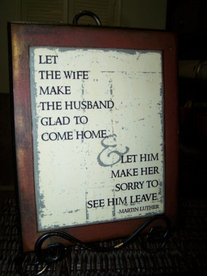 Marriage Quote by Martin Luther wooden sign by bethborder on Etsy, $25 ...