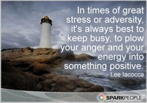 Motivational Quote - In times of great stress or adversity, it's ...