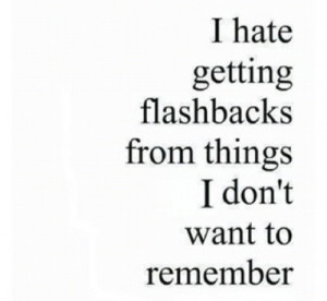 But then again, sometimes you miss the memories, not the person.
