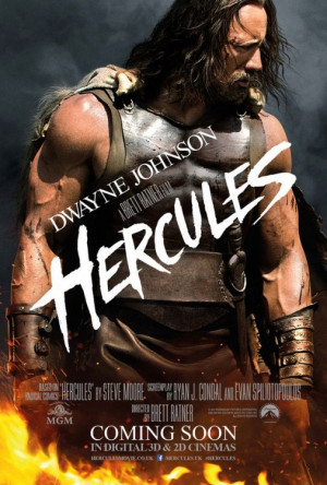 ... Hercules movie with Dwayne Johnson. The one released in July 2014