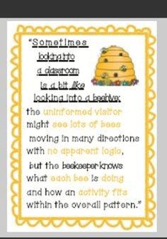Classroom Business, Classroom Decor, Bees Classroom, Quotes Classroom ...