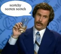 Ron Burgundy....Quite possibly the most influential broadcast ...