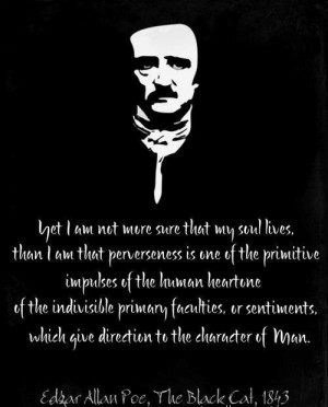 Edgar allan poe quotes and sayings witty man men lives