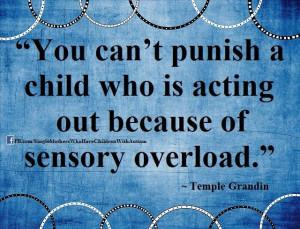It's sensory overload!