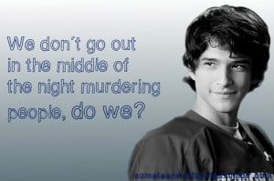Scott McCall, The Tell (1.5)