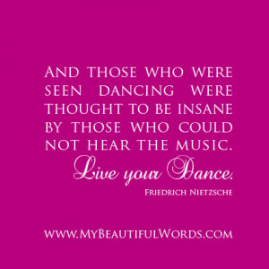 Nietzsche Quotes Dance Music