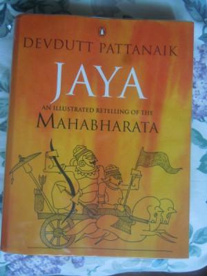 Jaya, an illustrated retelling of the Mahabharata by Devdutt Pattanaik