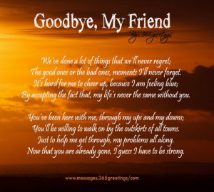friendpomes | Funeral Poems - Messages, Wordings and Gift Ideas