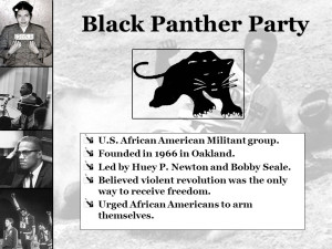 Black Panther Party U.S. African American Militant group. Founded in ...