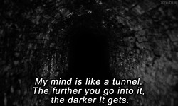... quotes head silence thoughts crazy dark mind thinking darkness madness