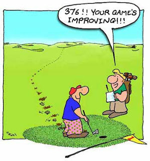 ... you play it, it's recreation. If you work at it, it's golf~ Bob Hope