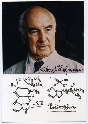 Albert Hoffman lsd psilocybin on Flickr - Photo Sharing!