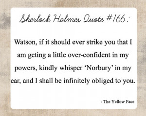 BLOG - Funny Quotes From Sherlock Holmes 2
