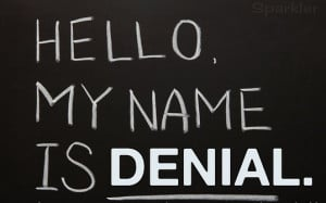 The most common sign of alcoholic denial comes through verbal ...