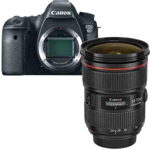 Home » Canon 6D Camera + Canon EF 24-70mm f2.8L II USM Camera Lens ...