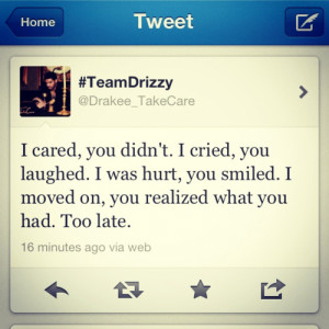 Drake twitter drake quotes love quotes giving up