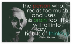Use your brain too...