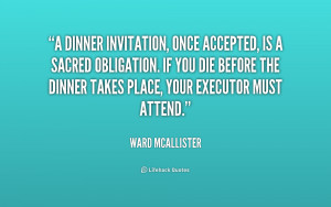 Quotes by Ward Mcallister