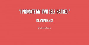 quotes about self hate