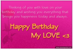 happy birthday wishes for him quotes